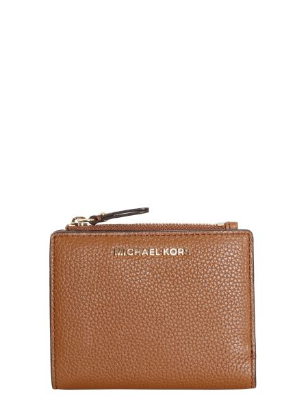 Michael By Michael Kors - Bifold Leather Wallet With Logo