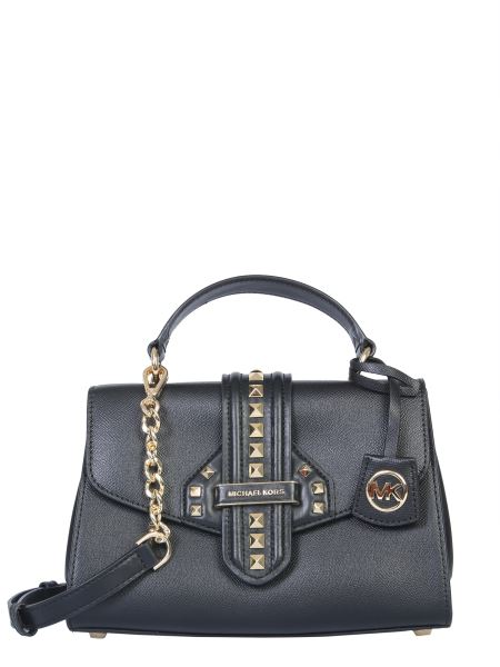 "Michael By Michael Kors - ""bleecker"" Hammered Leather Bag"