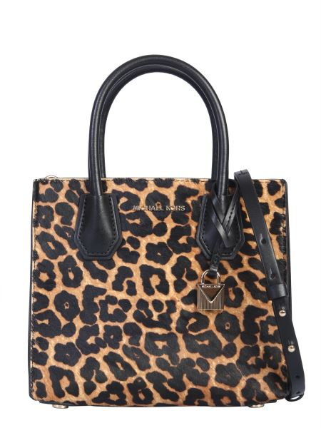 Michael By Michael Kors - Mercer Leather And Pony Bag