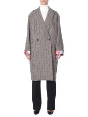 STELLA McCARTNEY - CAPPOTTO A QUADRI