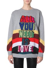 "STELLA McCARTNEY - MAGLIA ""ALL YOU NEED IS LOVE"""