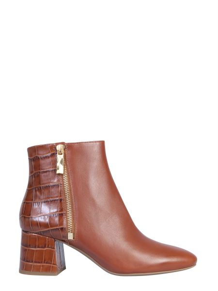 "Michael By Michael Kors - ""alane"" Leather Boot With Coconut Print Insert"