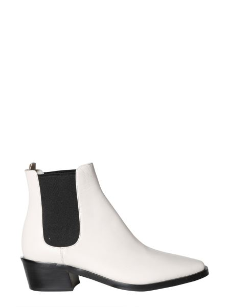 Michael By Michael Kors - Lattie Flat Leather Boot