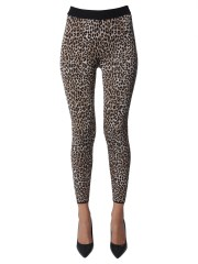 MICHAEL BY MICHAEL KORS - LEGGINS CON STAMPA LEOPARDATA