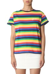 ÊTRE CÉCILE - T-SHIRT A RIGHE RAINBOW