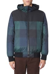 PS BY PAUL SMITH - BOMBER CON CAPPUCCIO