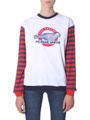 PS BY PAUL SMITH - T-SHIRT A MANICHE LUNGHE