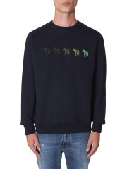 PS BY PAUL SMITH - FELPA CON ZEBRE RICAMATE