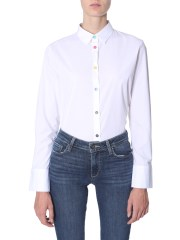 PS BY PAUL SMITH - CAMICIA IN COTONE STRETCH