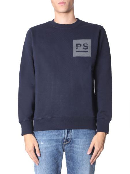 Ps By Paul Smith - Felpa Girocollo In Cotone Con Logo
