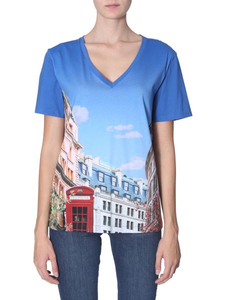 Ps By Paul Smith - T-shirt Scollo A V