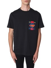 PS BY PAUL SMITH - T-SHIRT CON TASCHINO