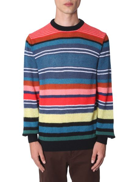 Ps By Paul Smith - Striped Wool Sweater