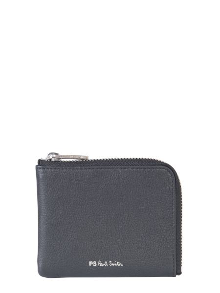 Ps By Paul Smith - Leather Zip Wallet