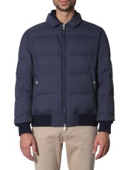 BRUNELLO CUCINELLI - BOMBER IN NYLON