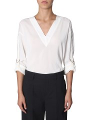 BRUNELLO CUCINELLI - BLUSA IN SETA