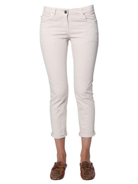 Brunello Cucinelli - Cropped Jeans In Denim Stretch