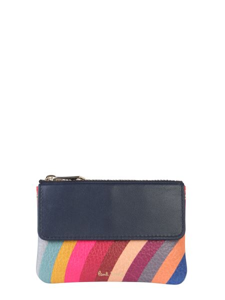 Paul Smith - Striped Leather Purse