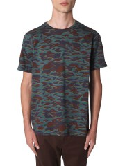 PS BY PAUL SMITH - T-SHIRT STAMPA CAMOUFLAGE