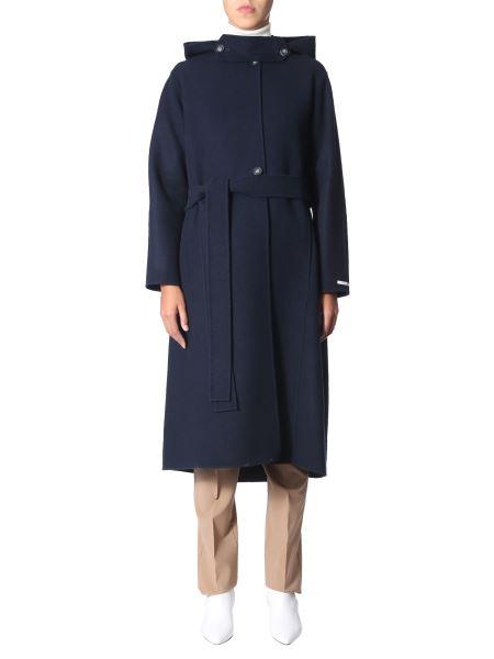 """Sportmax - """"embassy"""" Wool Coat With Belt"""