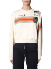 OFF-WHITE - FELPA CROPPED