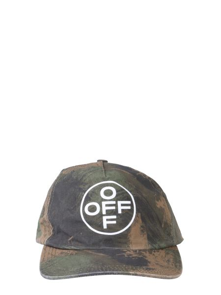 Off-white - Camouflage Cotton Baseball Cap