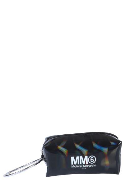 Mm6 Maison Margiela - Pvc Clutch With Logo