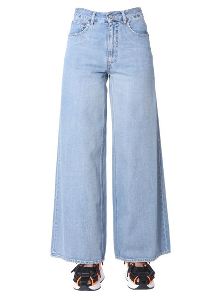 Mm6 Maison Margiela - Wide Denim Jeans