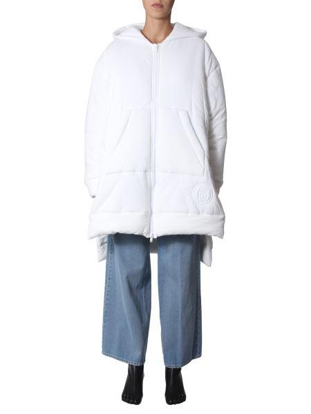 Mm6 Maison Margiela - Cotton Padded Jacket With Logo