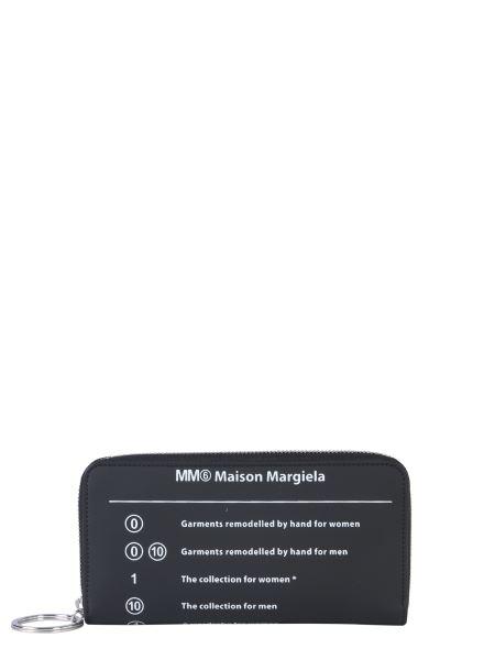 Mm6 Maison Margiela - Portafoglio Con Zip