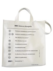 MM6 MAISON MARGIELA - BORSA SHOPPING CON LOGO