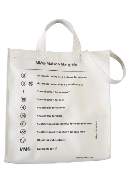 Mm6 Maison Margiela - Pvc Shopping Bag With Logo