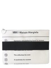 MM6 MAISON MARGIELA - CLUTCH CON FASCIA ELASTICA