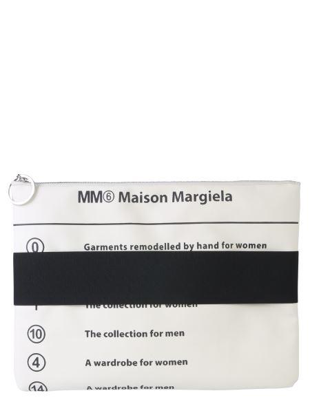 Mm6 Maison Margiela - Pvc Clutch With Elastic Band
