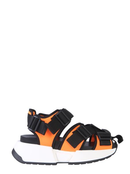 Mm6 Maison Margiela - Runner Sandals With Safety Strap