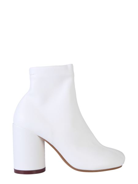 Mm6 Maison Margiela - Elasticized Leather Boot