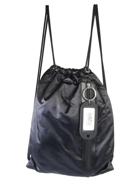 Mm6 Maison Margiela - Nylon Backpack With Coulisse