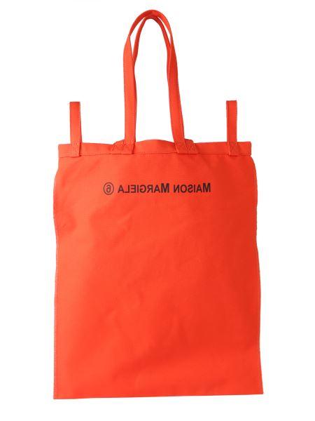 Mm6 Maison Margiela - Cotton Shopping Bag With Logo