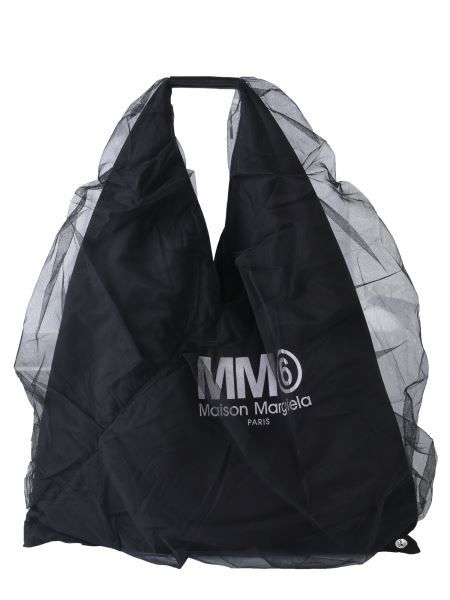 Mm6 Maison Margiela - Japanese Tote In Tulle