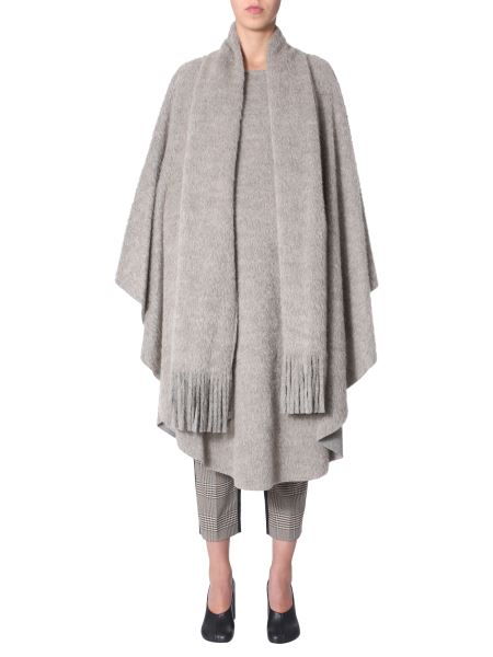 Mm6 Maison Margiela - Wool Mufler With Hood
