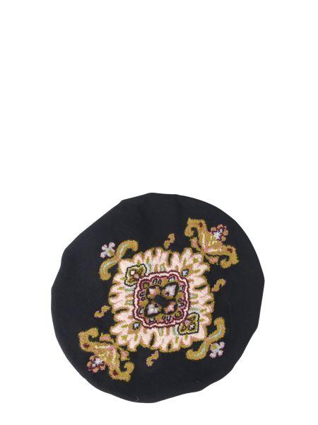 Etro - Basco With Jacquard Embroidery