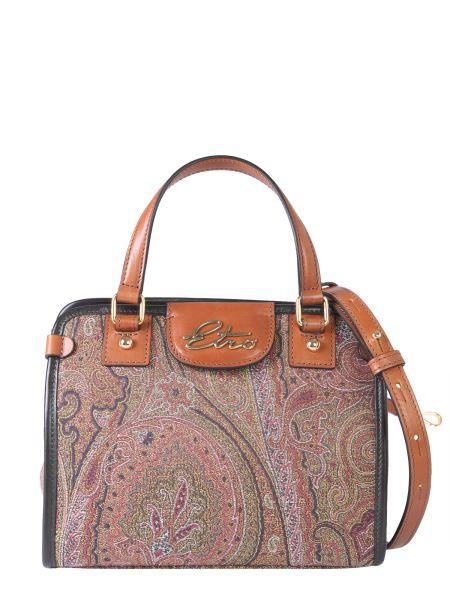 Etro - Paisley Print Canvas Shoulder Bag