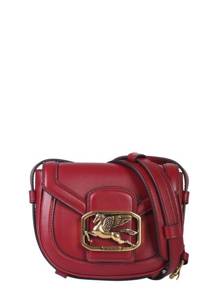 Etro - Pegaso Leather Shoulder Bag