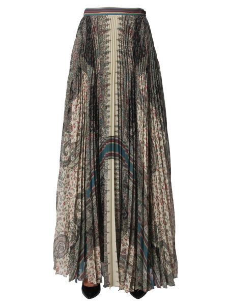 Etro - Paisley Pattern Long Skirt