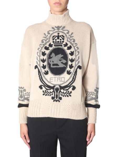 "Etro - ""nottingham"" Wool Sweater"