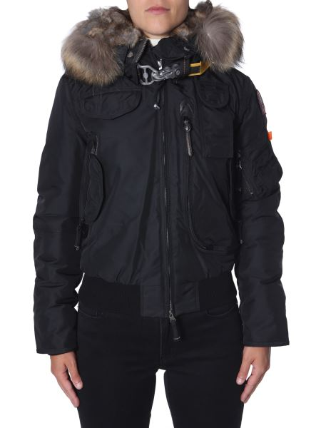 """Parajumpers - """"gobi"""" Down Jacket With Fur Bordered Hood"""