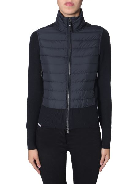 Parajumpers - Down Jacket With Knitted Details