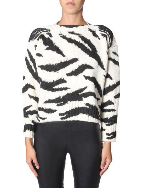 Philosophy Di Lorenzo Serafini - Tiger Print Wool Sweater