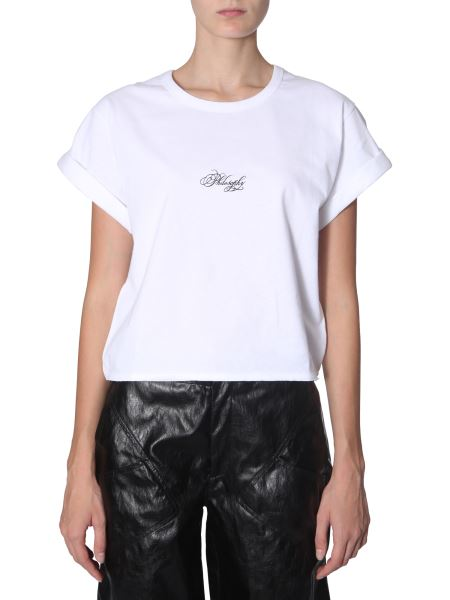 Philosophy Di Lorenzo Serafini - Cotton T-shirt With Logo