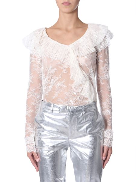 Philosophy Di Lorenzo Serafini - Lace Blouse With Ruches